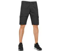 Slim Cargo Shorts schwarz