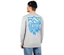 Mountains Longsleeve T-Shirt grey
