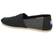 Alpargata Slippers grey heather wool