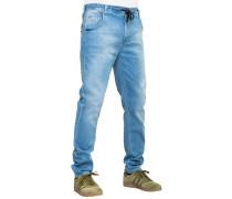 Jogger Long Jeans blau