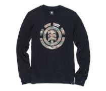 Logo Fill Crew Sweater flint black