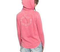 Sunkissed Moment B Zip Hoodie rouge red