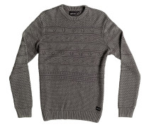 Taken Over Strickpullover grau