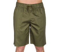 Hoodrich Shorts grün
