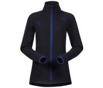Cecilie Wool Fleece Jacket inkblue