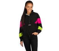Rafiya Half Zip Fleece Sweater acid li