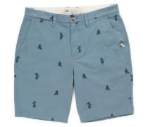 Authentic Monogram Shorts blau