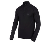 Warm Zone 1/4 Zip Fleec Pullover blackout