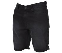 Outsider 5 Pockets Denim Shorts schwarz