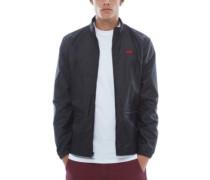 Nylon Track Jacket black