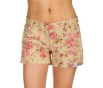 BT Shorty Shorts flower