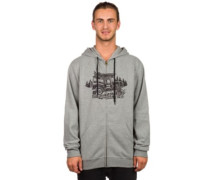 Enthusiasts Zip Hoodie light grey heather