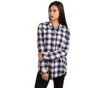 Meridian Flannel Hemd weiß