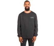 Stacked Vibes Crew Sweater dark marle