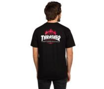 X Thrasher TDS T-Shirt black