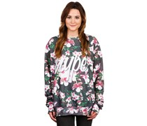 Hype Depth Flowers Sublimanted Crew Sweater