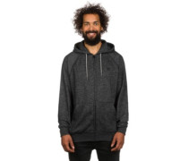 Balance Zip Hoodie black heather