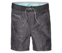 "Spencer 18"" Boardshorts black"