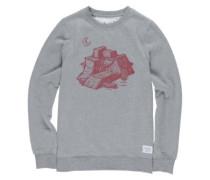 Ramps Crew Sweater grey heather