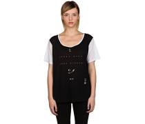 Temple Boyfriend T-Shirt schwarz