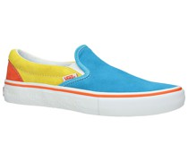 X The Simpsons Slip-On Pro Skate Shoes yellow