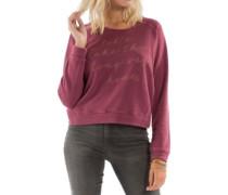 Hang Me Sweater mystic maroon