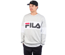 Straight Crew Sweater br wht