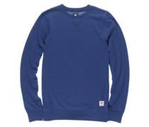 Cornell Overdye Crew Sweater boise blue htr