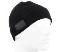 Merino Fisherman'S Beanie black