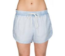Road Trippin Solid Shorts blau