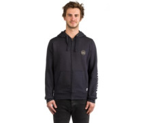 Oxford Full Zip Hoodie midnight navy