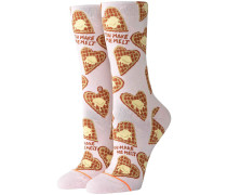 You Make Me Melt Crew Socks