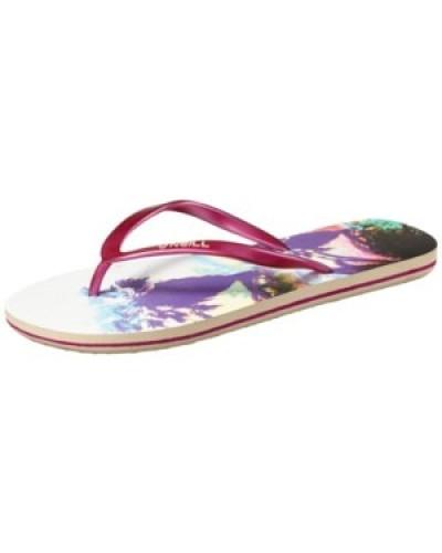 Summer Print Sandals Women purple