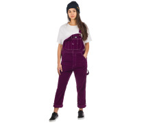 Marydell Dungaree Pants aubergine