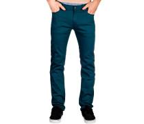 Skin Stretch Jeans blau