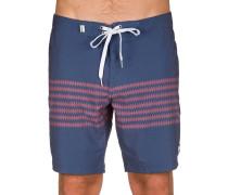 Brunswick Trunk Boardshorts blau