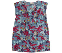 Shd Sky And Sand Dress blue shadow ashbury flora
