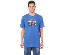 Bulli T-Shirt blau