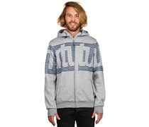 Thirtytwo Stamped Fleece Kapuzenjacke