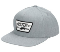 Full Patch Snapback Cap Boys heather grey