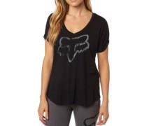 Responded Vneck T-Shirt black