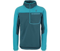 Defined Warm Fleece Pullover blau