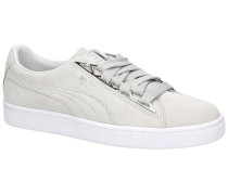 Suede Jewel Metalic Sneakers glacier gray