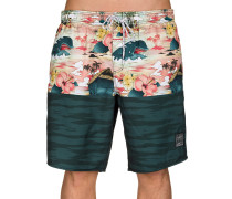 Monstro Hot Tub Disney Boardshorts rot
