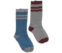 Jaquard Knit Socks multi