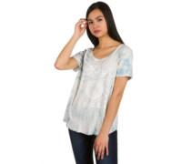 No Future T-Shirt indigo tie dye