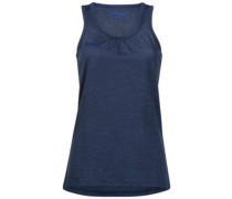Cecilie Wool Tank Top inkblue