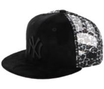NY Yankees Leo Mesh Snap Cap leopard