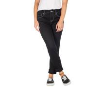 Tessa Skinny Jeans white stitching