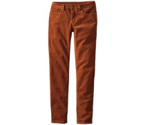 Fitted Corduroy Pants saddle